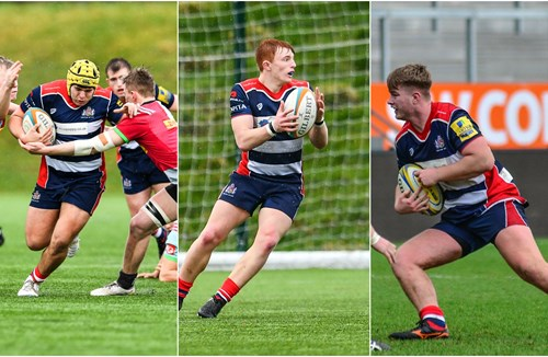 Academy trio involved in England-Wales clash