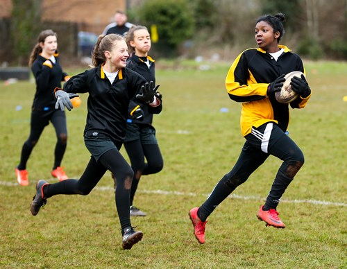 Eagle Project shortlisted for Women's Sport Trust award