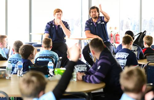 Gallery: Luatua and Tovey meet youngsters at Easter Holiday Camp