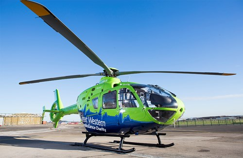 Bucket collection in aid of Great Western Air Ambulance