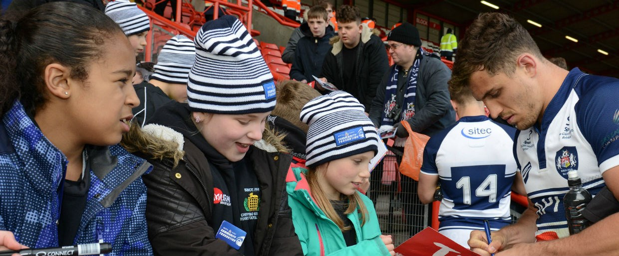 Meet bristol rugby players at ashton gate bristol bears meet bristol rugby players at ashton gate m4hsunfo