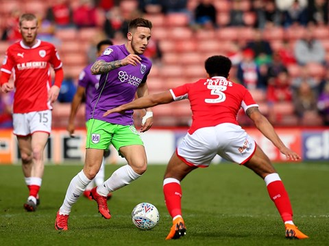 Goals: Barnsley 2-2 Bristol City