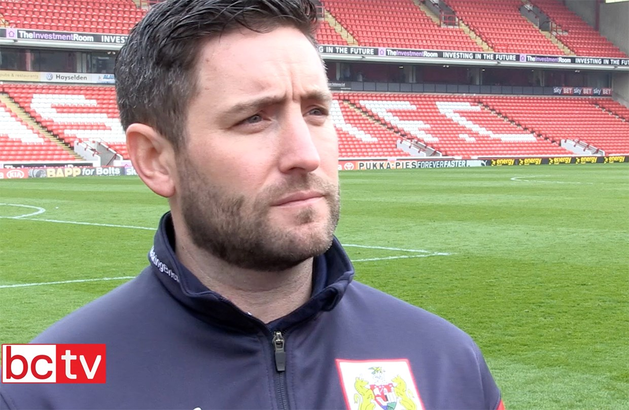 Video: Lee Johnson Post-Barnsley away thumbnail
