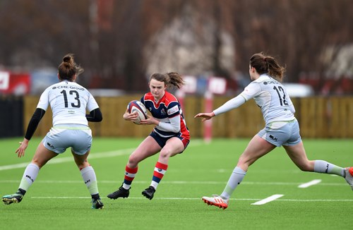 Report: Bristol Ladies 19-29 Saracens