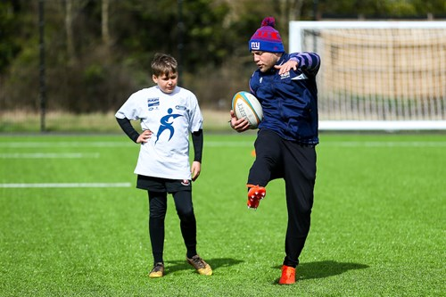 Gallery: Players host Community Foundation kicking masterclass