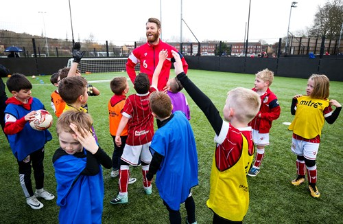 Trust's May half-term football camp proving popular