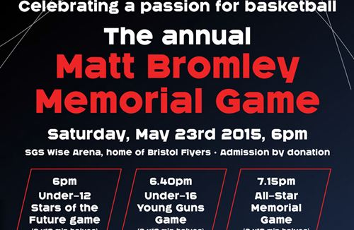 Bristol Flyers To Play In Charity All-Star Game