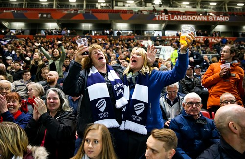 Gallery: Bristolians pack Ashton Gate for promotion party