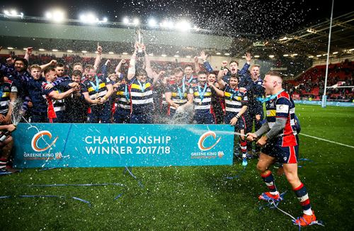 Gallery: The trophy lift, lap of honour and celebrations