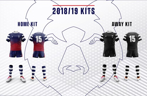 The 2018/19 playing strips revealed