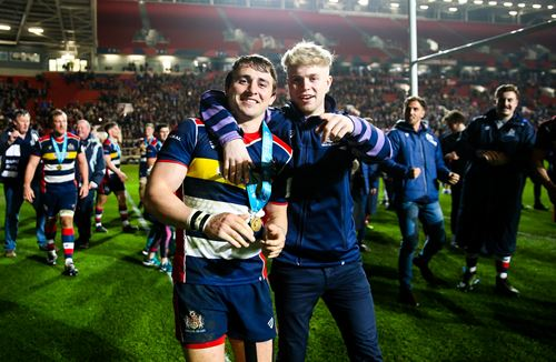 Video: On-field reaction as Bristol Rugby celebrate promotion