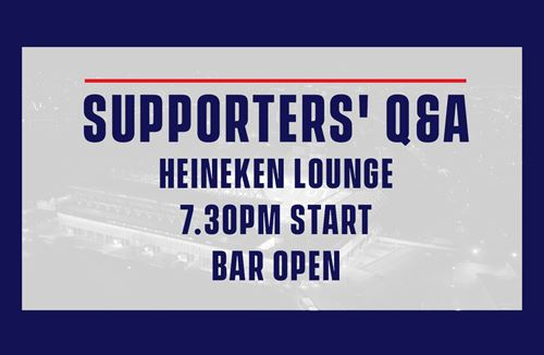 Bristol Rugby senior management to host supporters Q&A