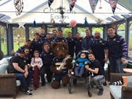 Video: Squad visit Childrens Hospice South West