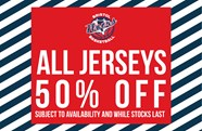Bristol Flyers' end of season sale