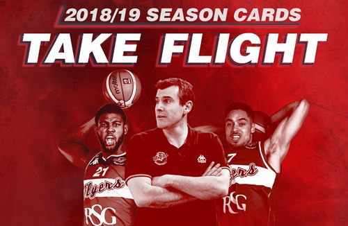Flyers 2018/19 season cards on general sale until May 18th