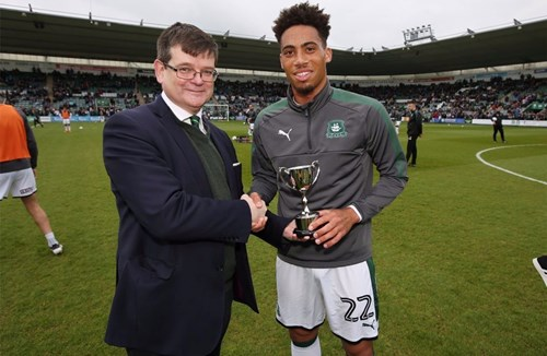 Vyner lands Home Park accolade
