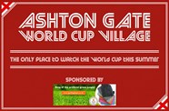 Ashton Gate to host World Cup Village