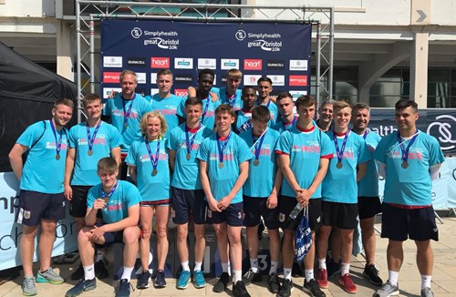 Academy boys complete Great Bristol 10k