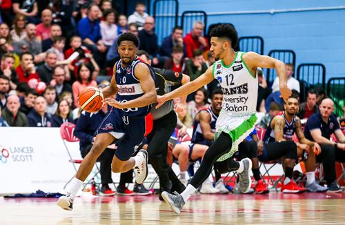 Bristol Flyers 'Top 5' plays of the month - April 2018