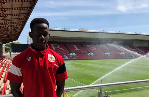 Janneh signs for the Academy