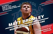 Flyers announce Matthew Bromley memorial game information