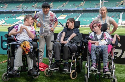 Budding journalists go VIP at Premiership Rugby final