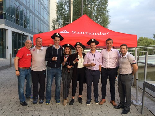 Santander Treasure Hunt raises money for Bristol Sport Foundation