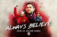 2018/19 Season Cards back on sale