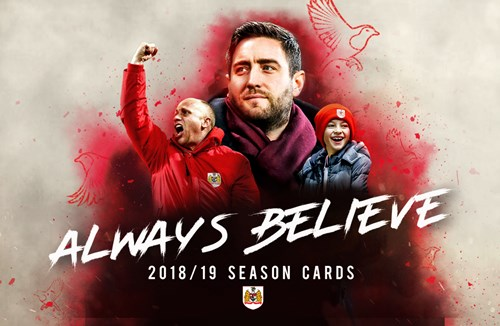 Season cards on sale until 5pm today
