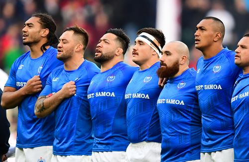 Samoa quintet to face Germany in World Cup play-off
