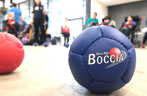 Video: Community Foundation hosts Boccia Festival at Ashton Gate