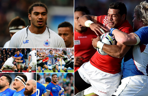 Teammates go head-to-head as Samoa take on Tonga in Pacific Nations Cup