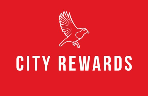 City Rewards cash can now be redeemed