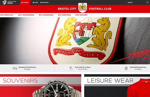 City launch new merchandise website