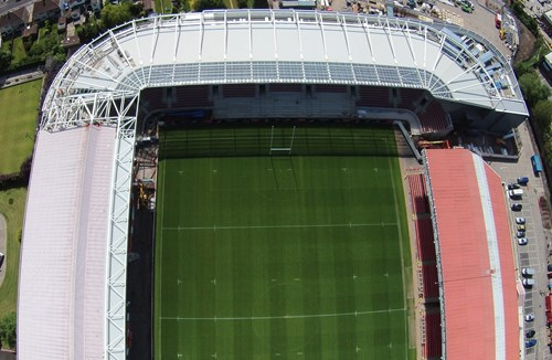 Video: Ashton Gate Rebuild - Phase Three Begins