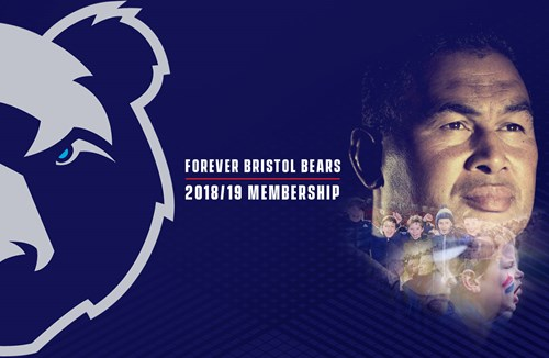 Bristol Bears memberships announced for 2018/19 season