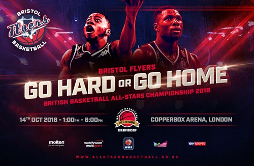 Support Flyers at the 2018 British Basketball All-Stars Championship