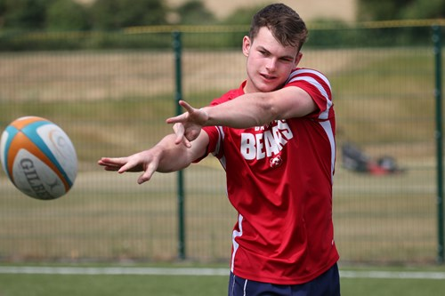 Bates named in England U18 squad for Six Nations Festival