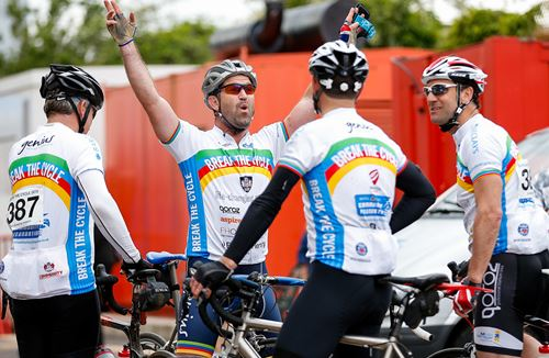 Over 400 Cyclists Take Part In Break The Cycle