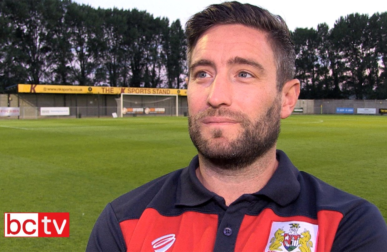 Video: Lee Johnson Post-Cheltenham Town friendly  thumbnail