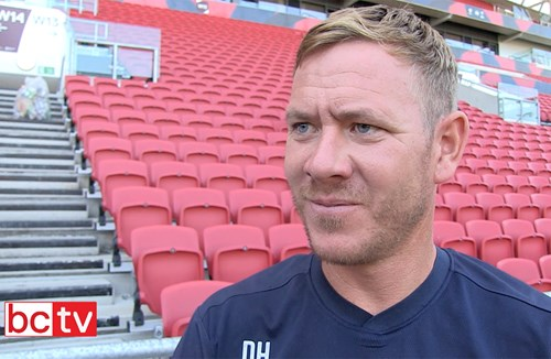Video: Dean Holden Post-Shrewsbury Town friendly