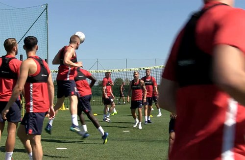 Marbella Tour: Day One Training