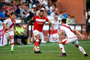 Gallery: Rayo Vallecano 1-0 Bristol City