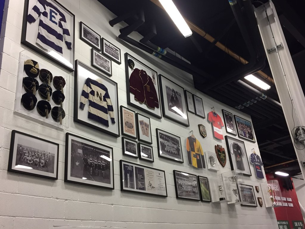 Video: Mark Hoskins delighted by memorabilia wall