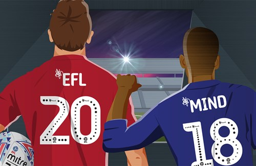 EFL & Mind launch two-year 'On Your Side' partnership