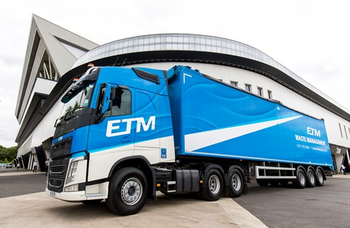 Long-term partner ETM extend Dolman Stand sponsorship