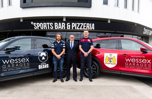 Wessex Garages revealed as official media vehicle sponsor of Bristol Sport