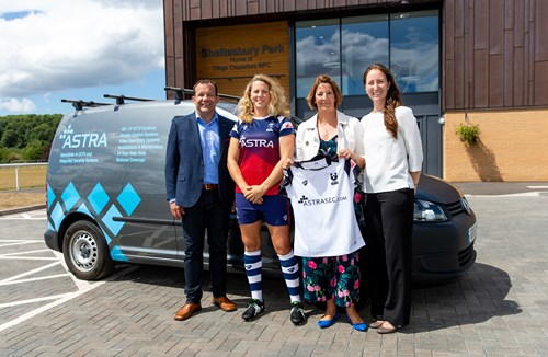 Bristol Bears Women to continue partnership with Astra Security LTD
