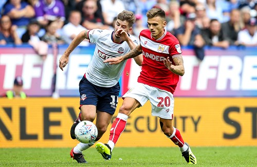 Report: Bolton Wanderers 2-2 Bristol City