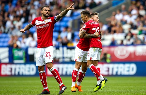 Highlights: Bolton Wanderers 2-2 Bristol City